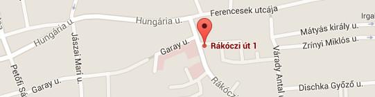 IQ Bázis Pécs térkép